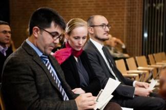 """v.l.n.r.: Yilmaz Holtz-Ersahin, der Leiter der Türkischen Bibliothek Duisburg, und Anne M. N. Sokoll M.A., Initiatorin und Mitveranstalterin des Gesamtprojekts """"TürkeiAlmanya"""""""