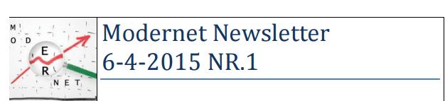 Modernet Newsletter