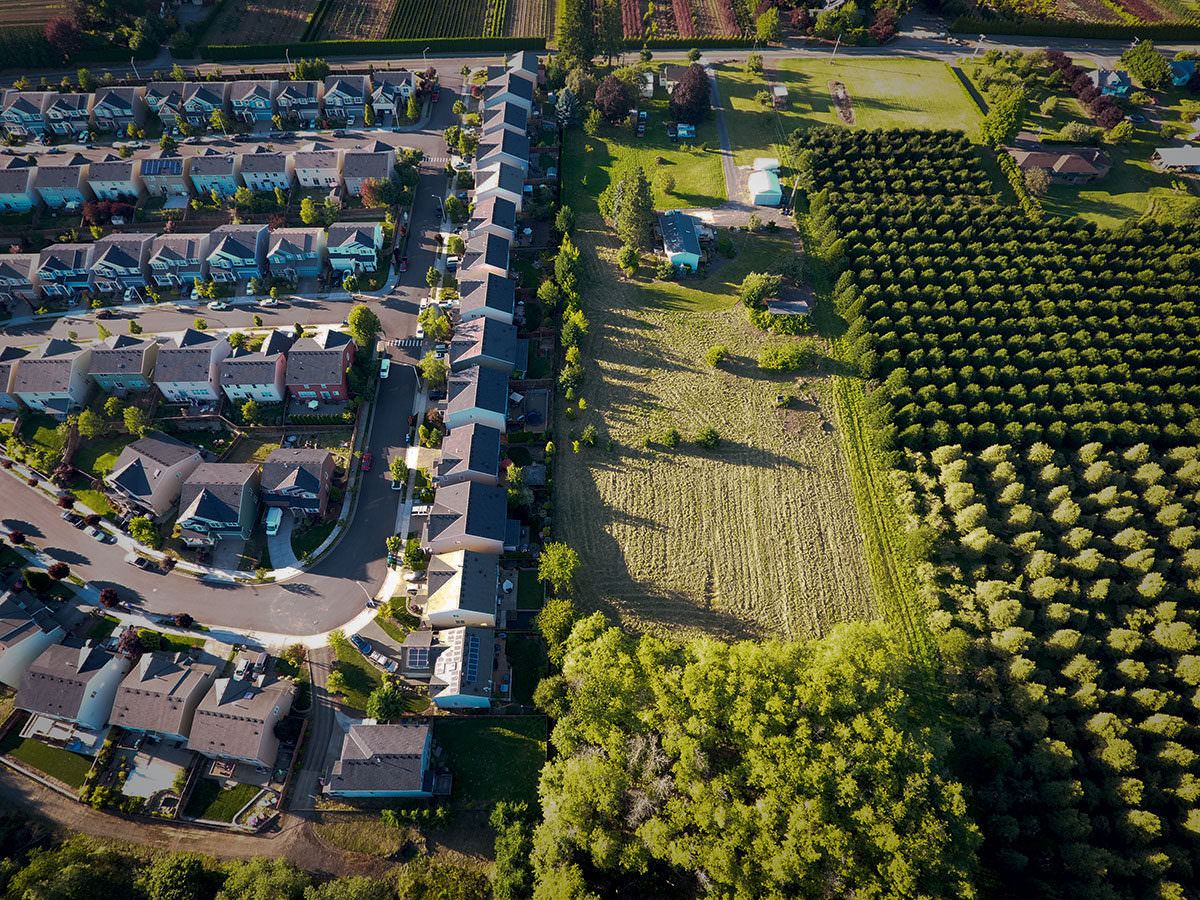 Portland S Urban Growth Boundary Plots City Versus Country