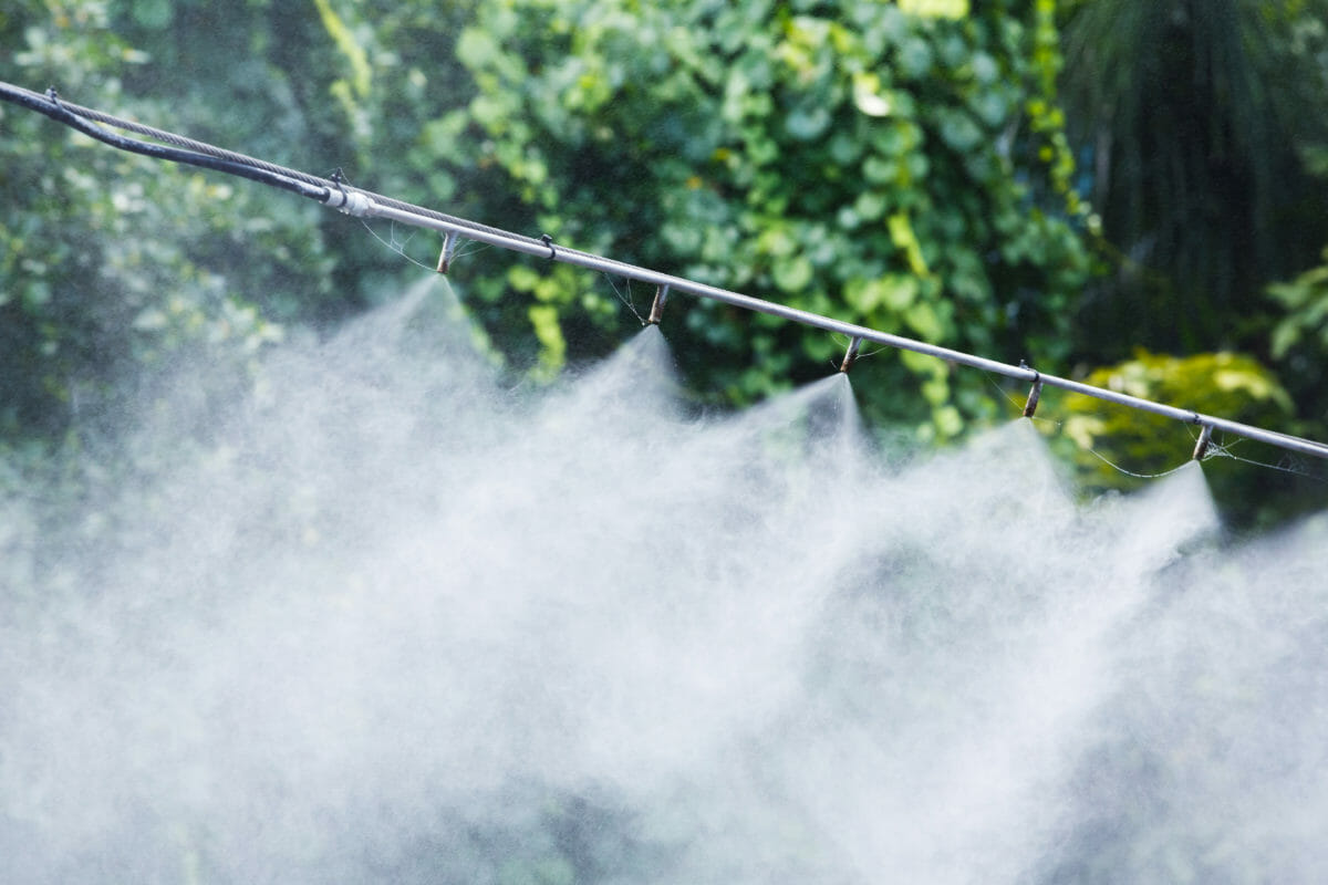 diy misting system for your greenhouse