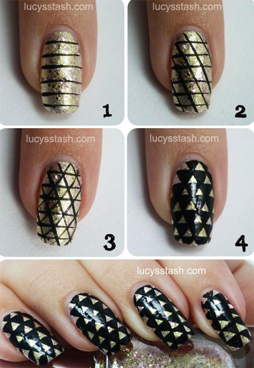 10 Easy Acrylic Nail Art Tutorials For Beginners