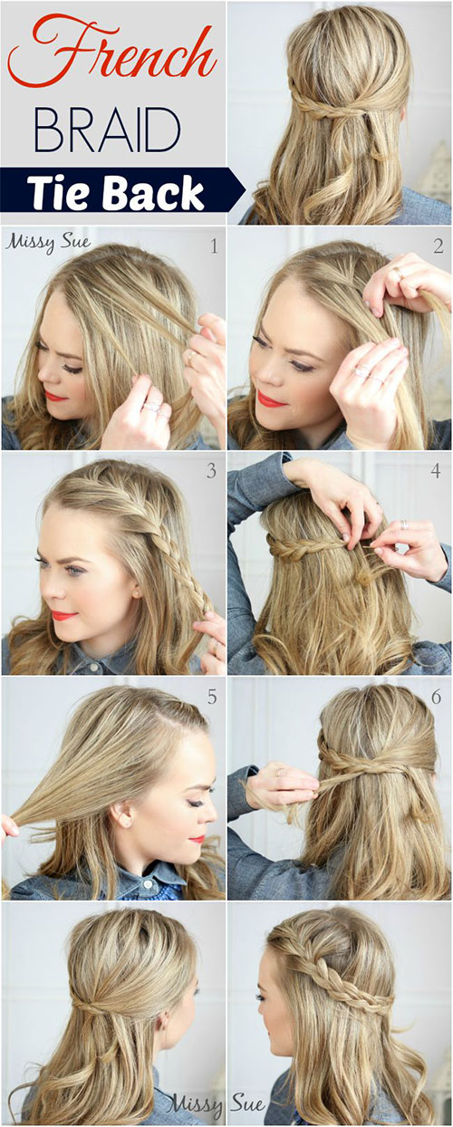 20 Easy Step By Step Summer Braids Style Tutorials For