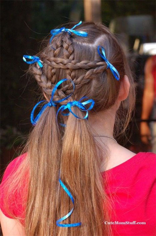 12 Amazing Fourth Of July Hairstyles For Kids Amp Girls 2015