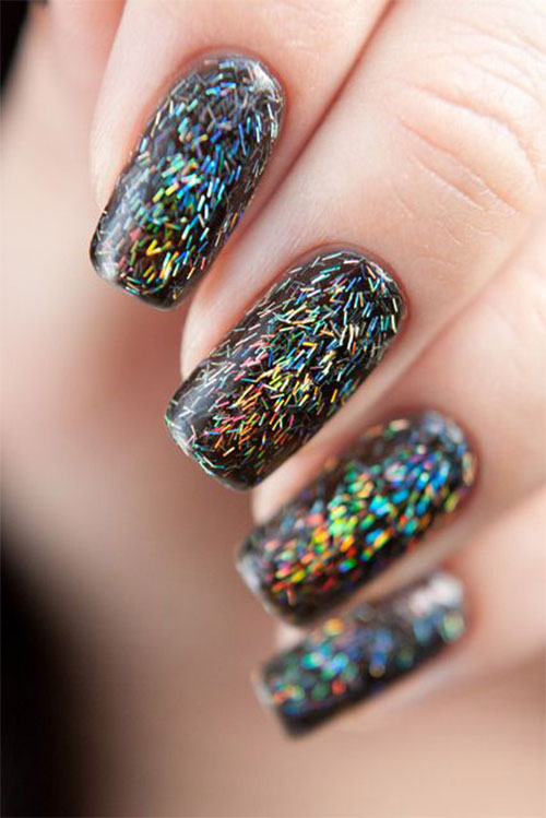Nails Design New Year 2017 Beautify Themselves With Sweet