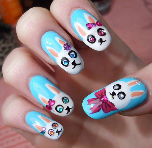 Easter Nail Art Stickers