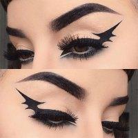 images of halloween eye makeup