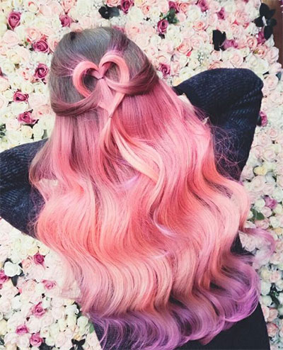 20 Valentines Day Hairstyles For Kids Girls Amp Women 2016