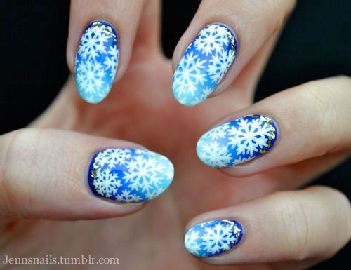 Winter Nail Art Ideas 2017 With Challenged Images 10