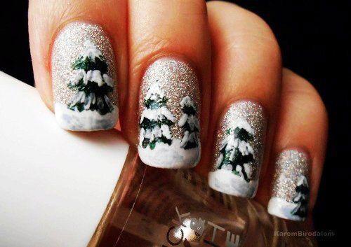 25 Best Winter Nail Art Designs Ideas 2017