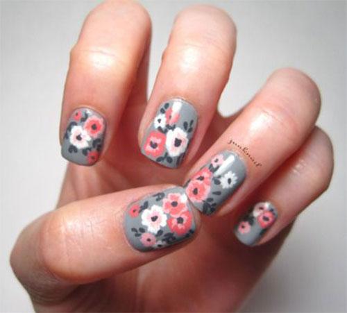 15 Pink Valentines Day Nail Art Designs Ideas