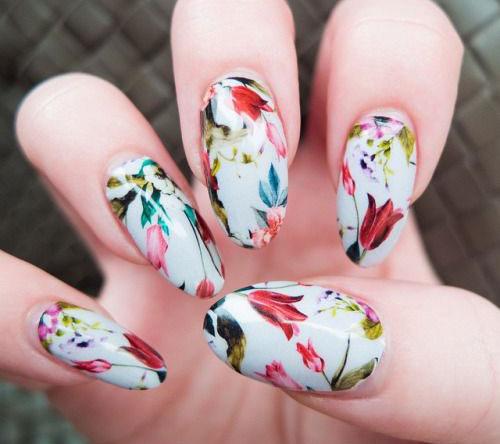 Spring Nail Colors Baby Pink Tip Acrylic Nails