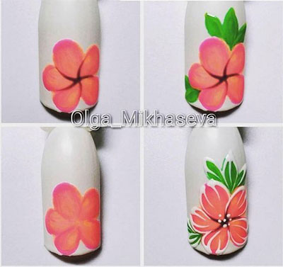 12 Step By Step Summer Nail Art Tutorials For Learners