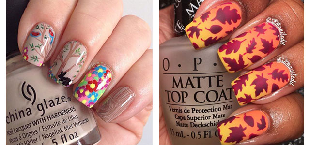 25 Best Autumn Nails Art Designs Ideas 2017