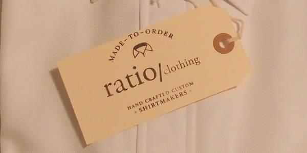 Ratio Clothing tag