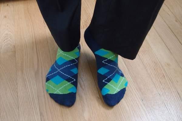 "Argoz ""blue lagoon"" socks"