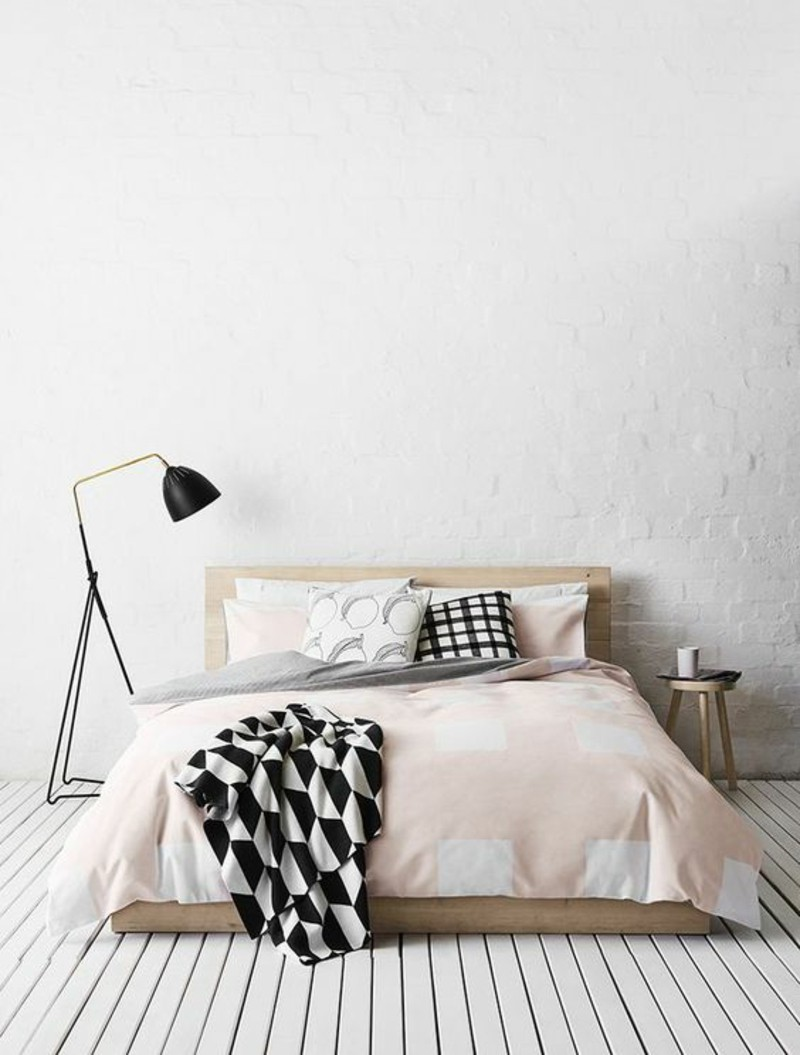 dress up your scandinavian bedroom with these modern floor lamps