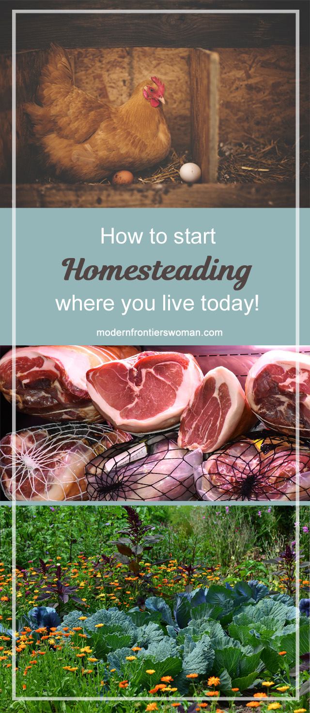 How to Start Homesteading Where You Live Today!