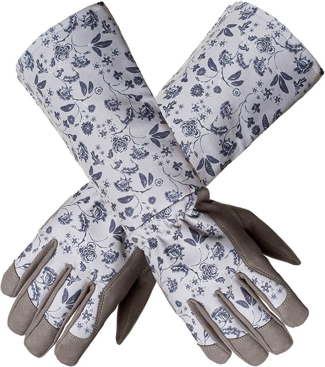 Long Sleeve Garden Gloves
