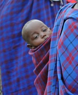 Tanzania, 2008. Ngorongoro Kratern. Massai byn