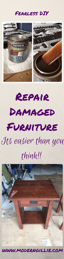 Furniture repair, www.moderngillie.com