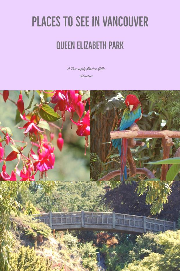 Places to See in Vancouver, Queen Elizabeth Park, Www.moderngillie.com