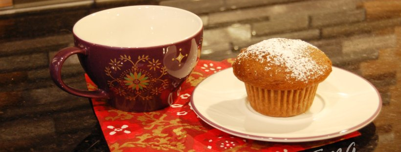 Easy Tasty Gingerbread muffins, www.moderngillie.com