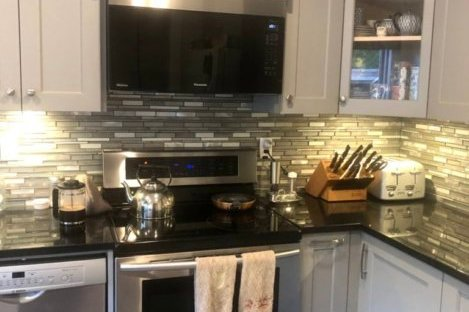 kitchen renovtion before and aftr, www.moderngillie.com