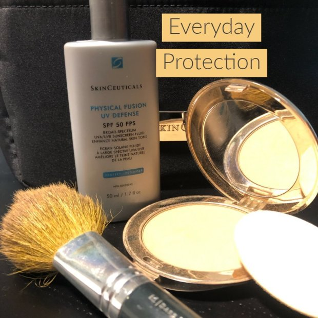 makeup and skincare for everyday protection