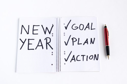 new year resolution and what your goals, plans and actions are to achieve them