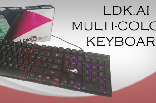 LDK.AI multi colour gaming mechanical keyboard