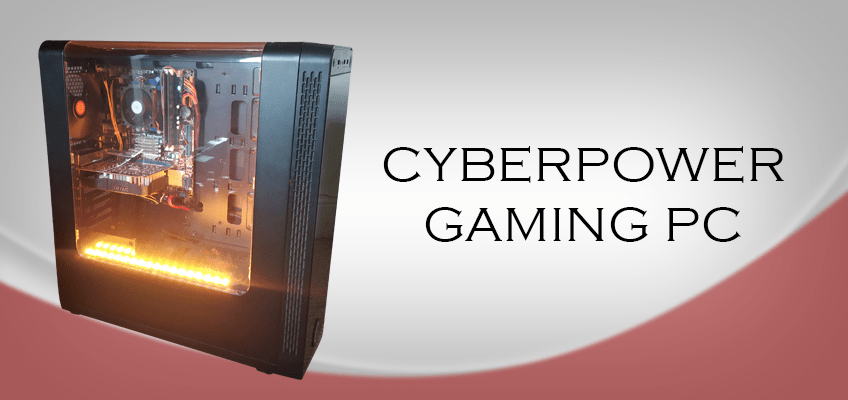 gaming PC cyberpower computer game play