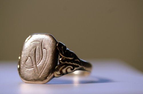 signet ring mens fashion accessories