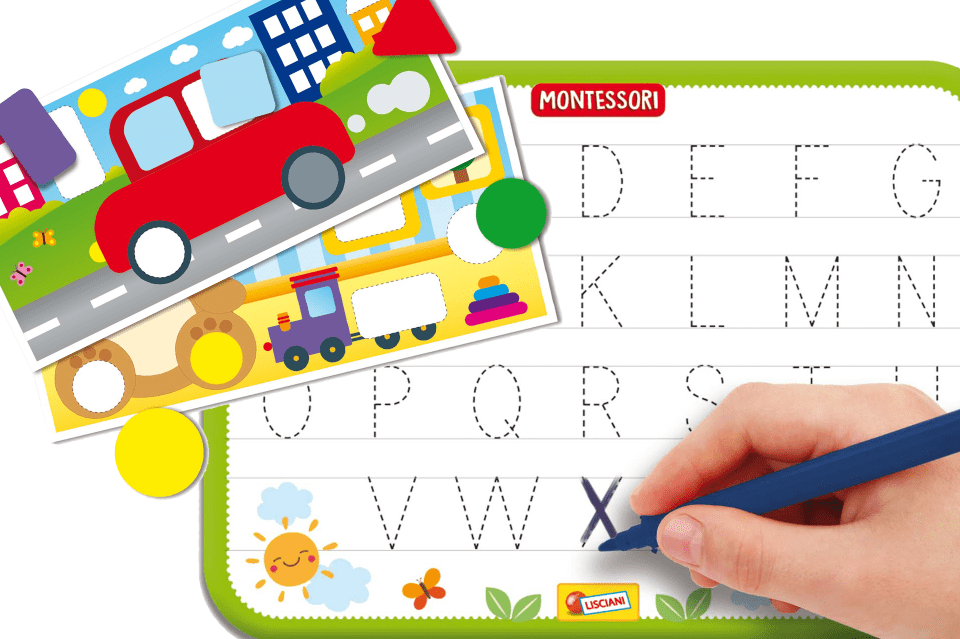 montessori play station for toddlers