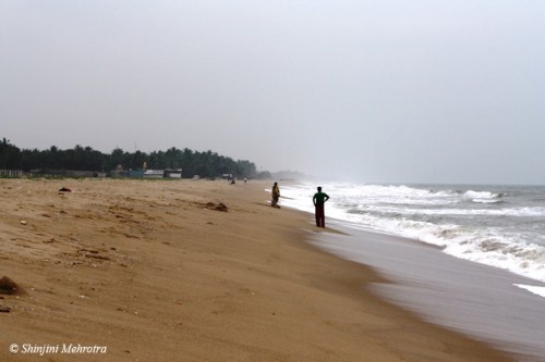Pondicherry_sandy_beach