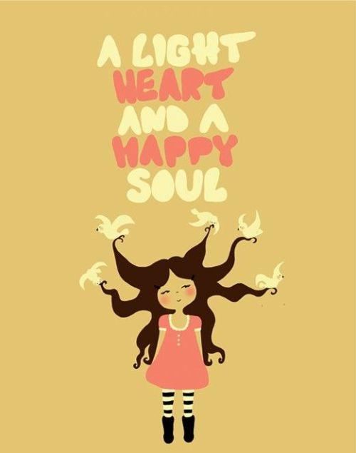 hapy heart happy soul