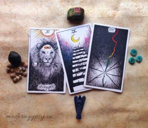 book tarot reading three card reading