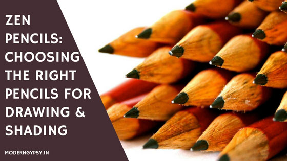 Choosing the right pencil for drawing and shading