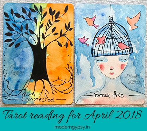 Tarot reading for April 2018 | Modern Gypsy