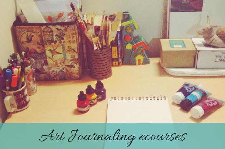 Art journal ecourse