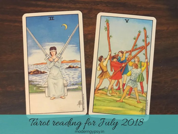 Tarot reading for July 2018