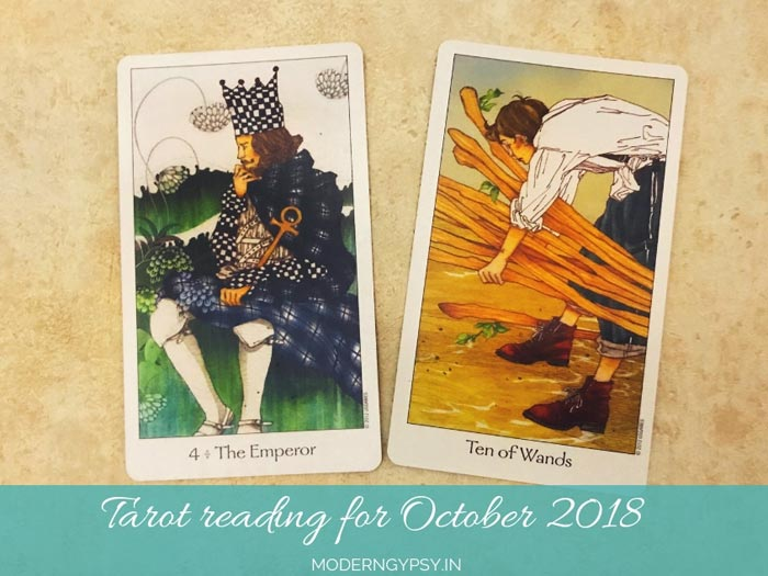 Tarot reading for October 2018