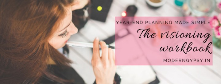 Year end planning made simple with the visioning workbook