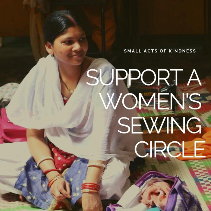 Support a women's sewing circle