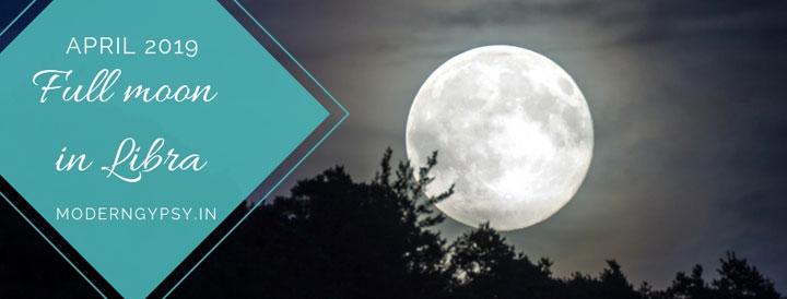 Full moon in Libra tarot spread and astro-tarot forecast
