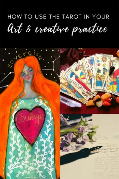 How to use tarot in your art and creative practice