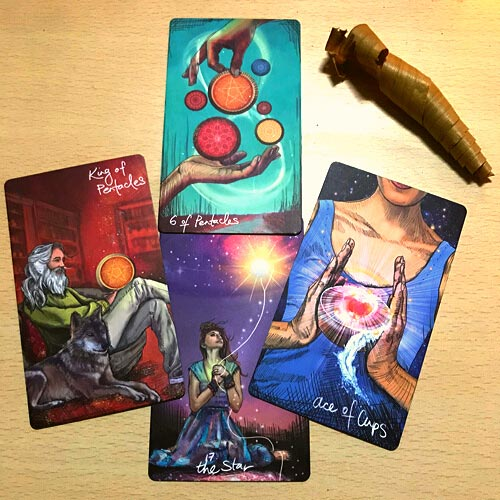 using tarot for creativity