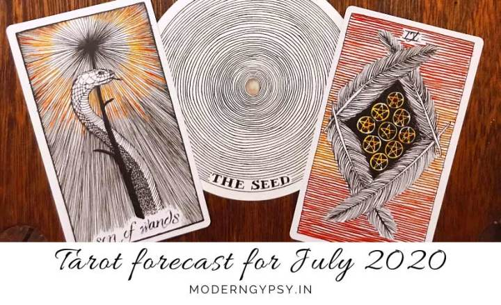 Energy and tarot forecast for July 2020