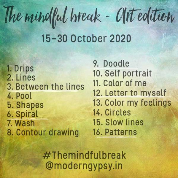 The Mindful Break art edition