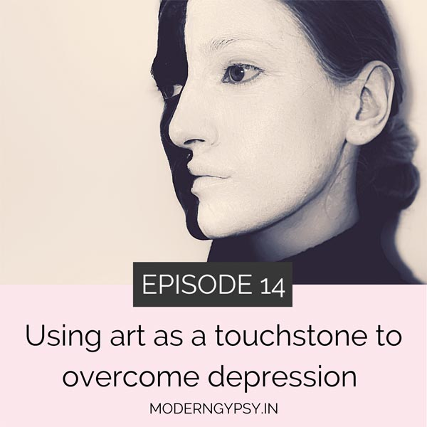 How art and creativity can help you to overcome depression