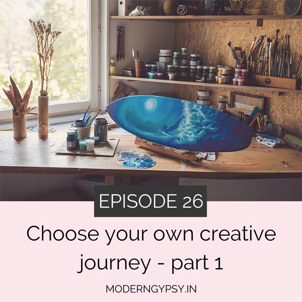 choose your creative adventure art with soul podcast